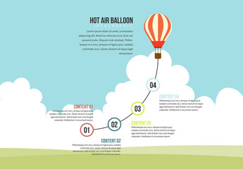 Hot Air Balloon Graphic