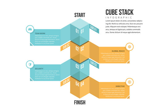 Cube Stack Infographic