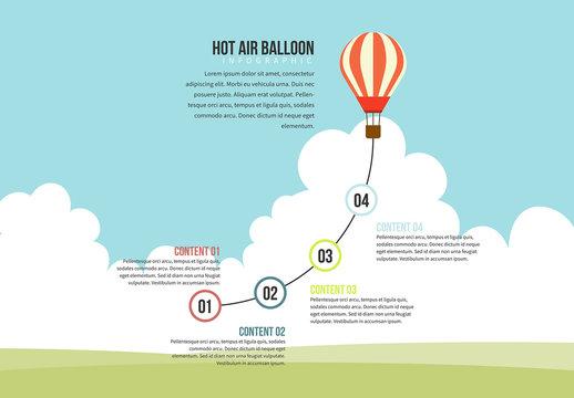 Hot Air Balloon Graphic