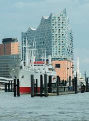 Elbphilharmonie Fertiggestellt in Hamburg an der Elbe