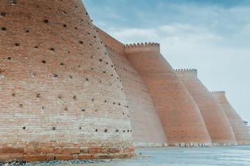 the ark fortress ancient fort of bukhara silk road uzbekistan asia