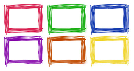Frame design in six color