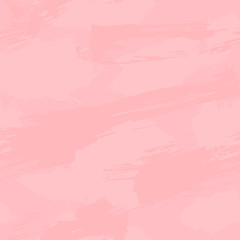 Pink paint background. Vector abstract seamless illustration