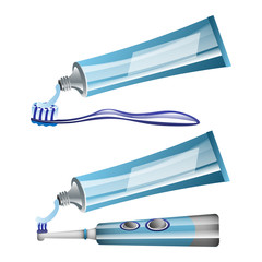 Toothbrushes toothpaste and Electric Toothbrush