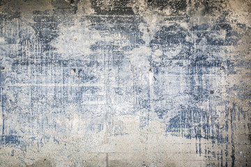 Old, shabby concrete wall background. Vintage style.