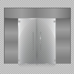 Vector of rectangle glass frame.