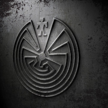 labyrinth - man in the maze S