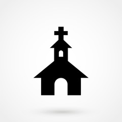Vector church Icon