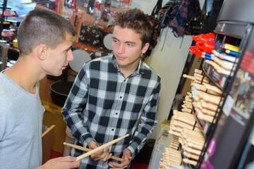 choosing a drumstick