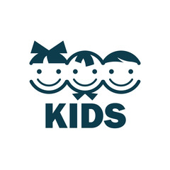 vector logo kids