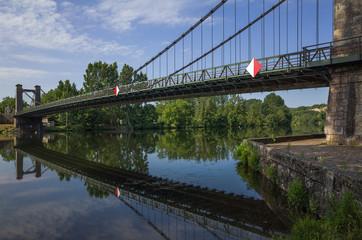 Bridge over the river Lot