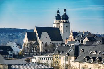St. John's Church in Plauen in the Vogtland
