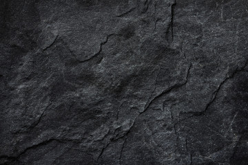 Dark grey black slate background or texture. Fotoväggar