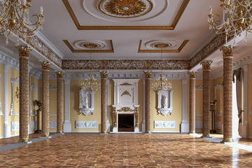 Palace interior