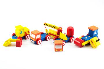Wooden toy car, Brain development, Skills Preschool