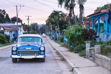 old car at Vinales Cuba