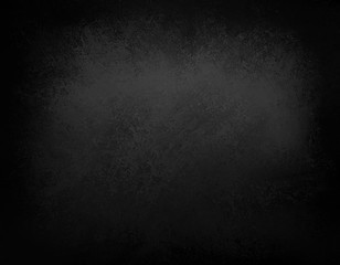elegant black background or chalkboard background illustration with dark grunge borders and vintage texture