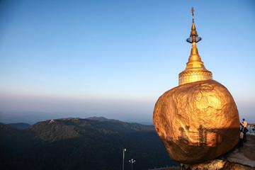 Myanmar  - Kyaiktiyo - Goldener Felsen