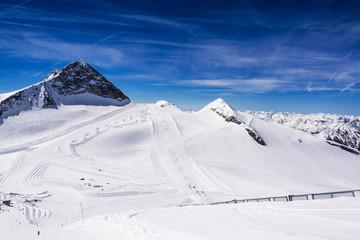 Skigebiet Hintertuxer Gletscher, Zillertaler Alpen, Tirol