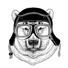 Vintage images of DOG for t-shirt design for motorcycle, bike, motorbike, scooter club, aero club