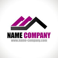 logo artisan charpentier toiture maison