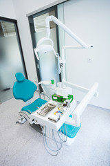 Modern dental office interior