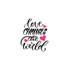 Modern vector lettering. Inspirational hand lettered quote for wall poster. Printable calligraphy phrase