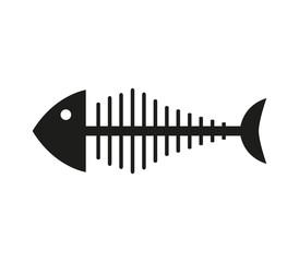 icon fish skeleton