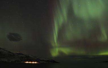 Northern lights. Tromso, Norway.