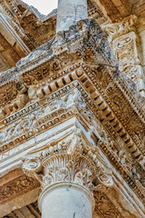 Ancient city of Ephesus in Turkey
