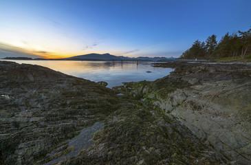 Sunset Pacific North West Ocean Landscape