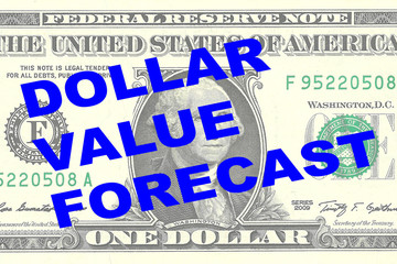 Dollar Value Forecast concept