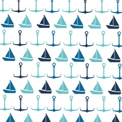 sailboat maritime emblem icon
