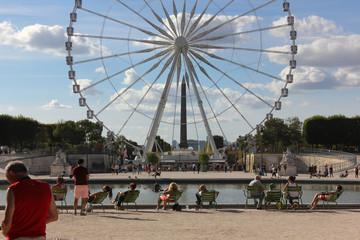 paris gardens and details