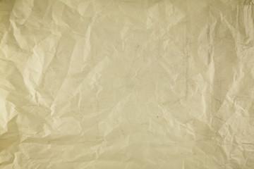 wrinkled old vintage paper background