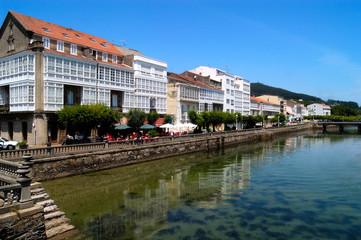 Spoed Fotobehang Scandinavië View of Cedeira, A Coruna, Galicia, Spain