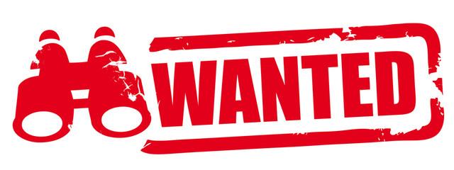 Stempel Wanted - Wir suchen Verstärkung
