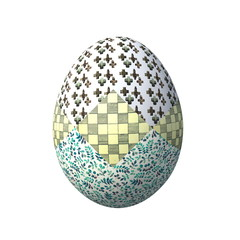 пасхальное яйцо оформленное русскими народными орнаментами