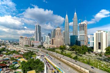 Kuala lumpur tower skyline