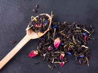 Bergamot green tea