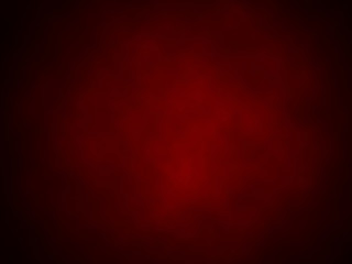 Colorful red abstract background with vignette. Illustration.
