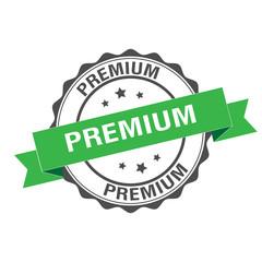 Premium stamp illustration
