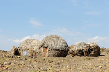 House of people from the Turkana tribe