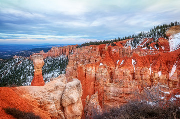 Thor's Hammer in Bryce Canyon National Park