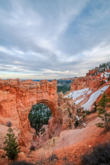Sunset at Natural Bridge - Bryce Canyon National Park