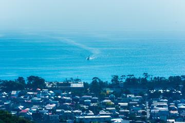 相模湾の漁船