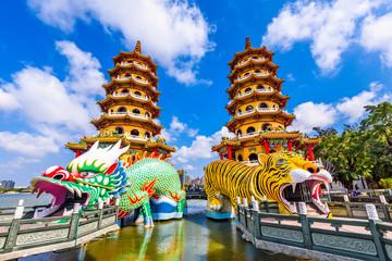 Kaohsiung Lotus Pond and Pagodas