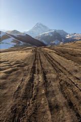 Mount Kazbek Kazbegi, Georgia