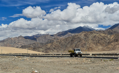 mountain landscape,northern India