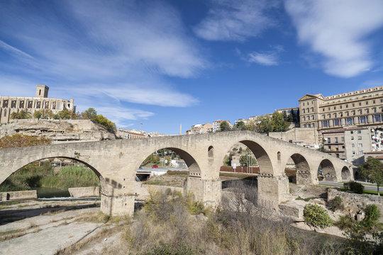 City view, Manresa, Catalonia,Spain.